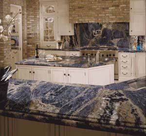 Exotic Granite showroom